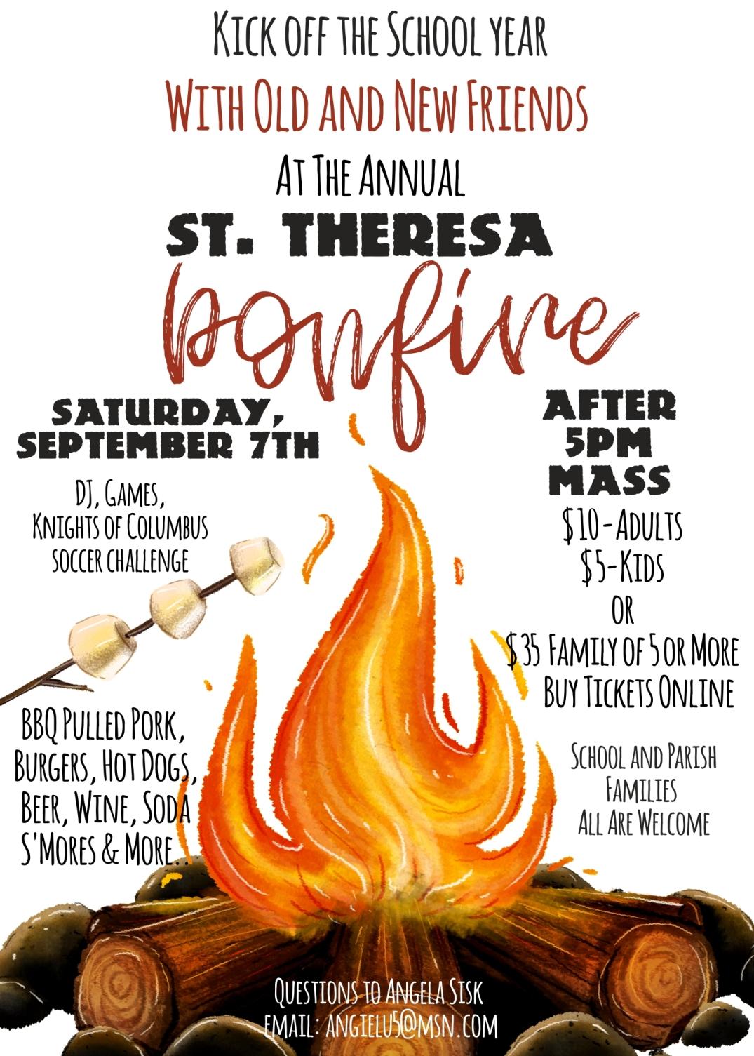 STS Bonfire 2019