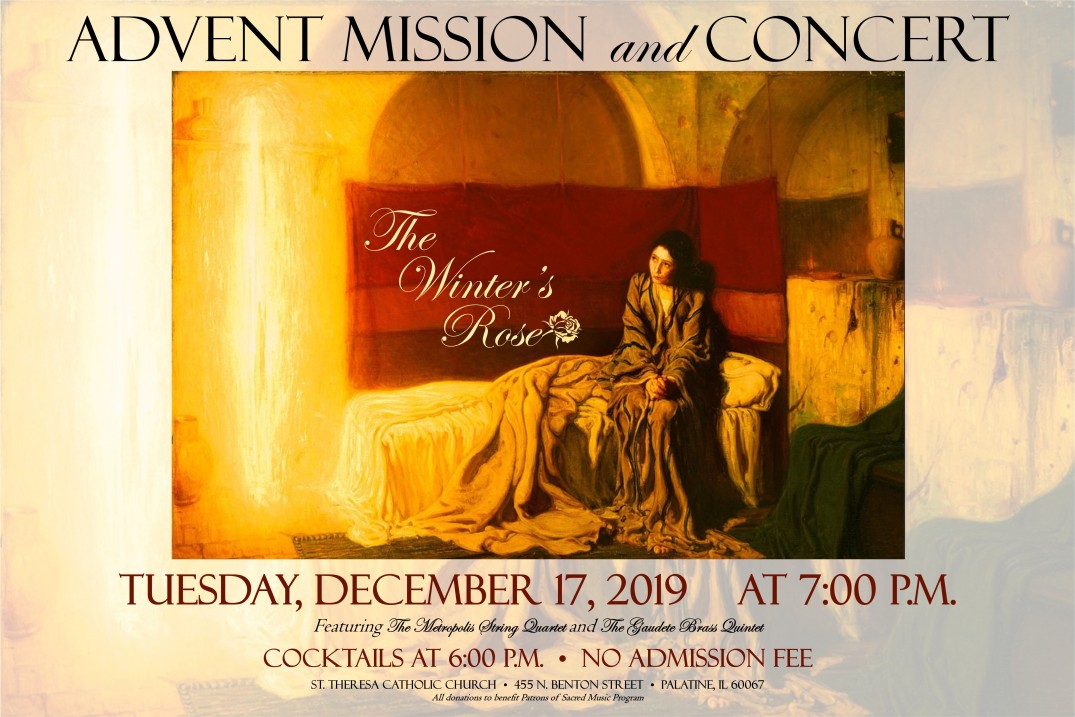 Advent mission 2019 poster