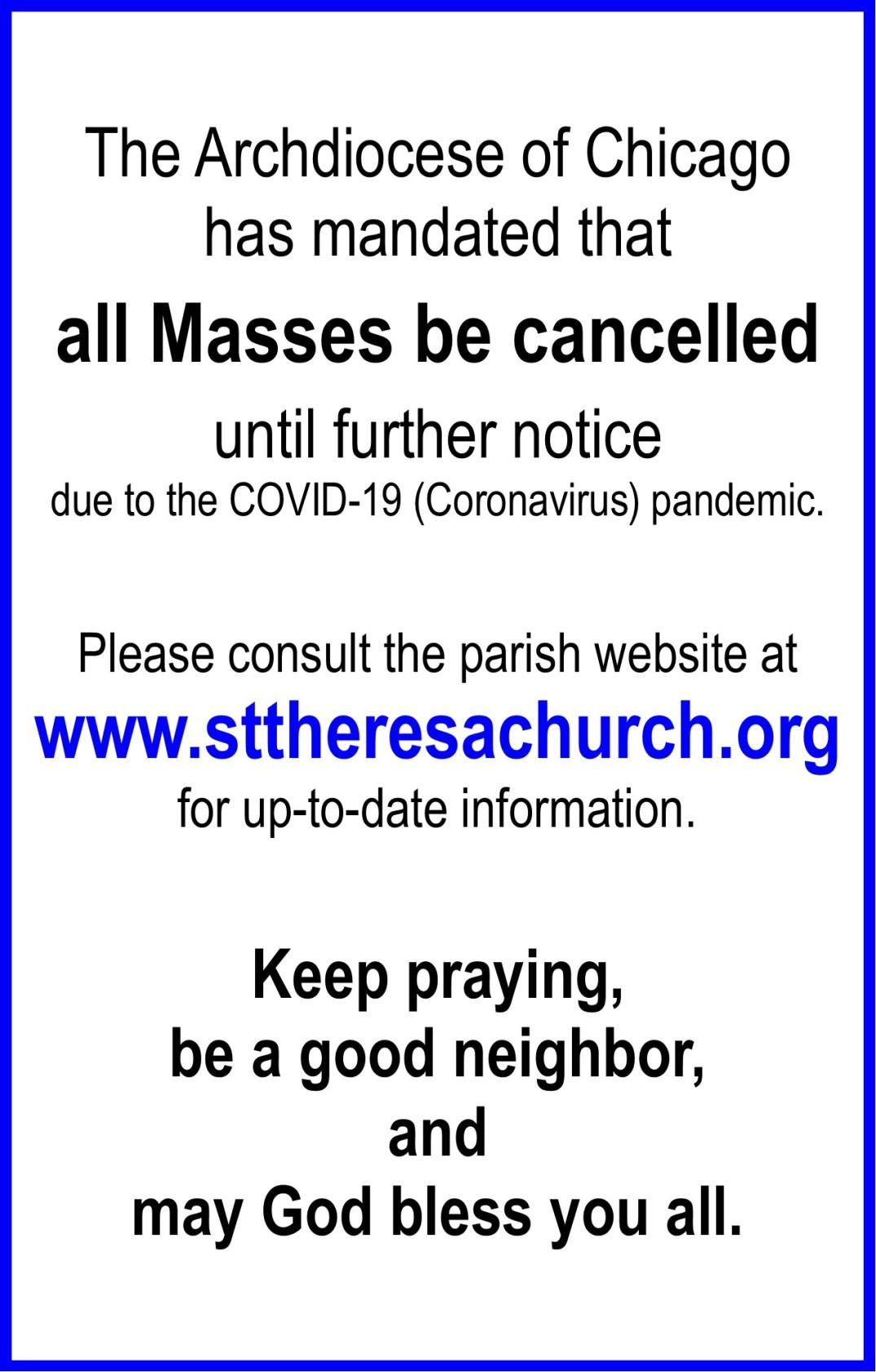 COVID19 closure